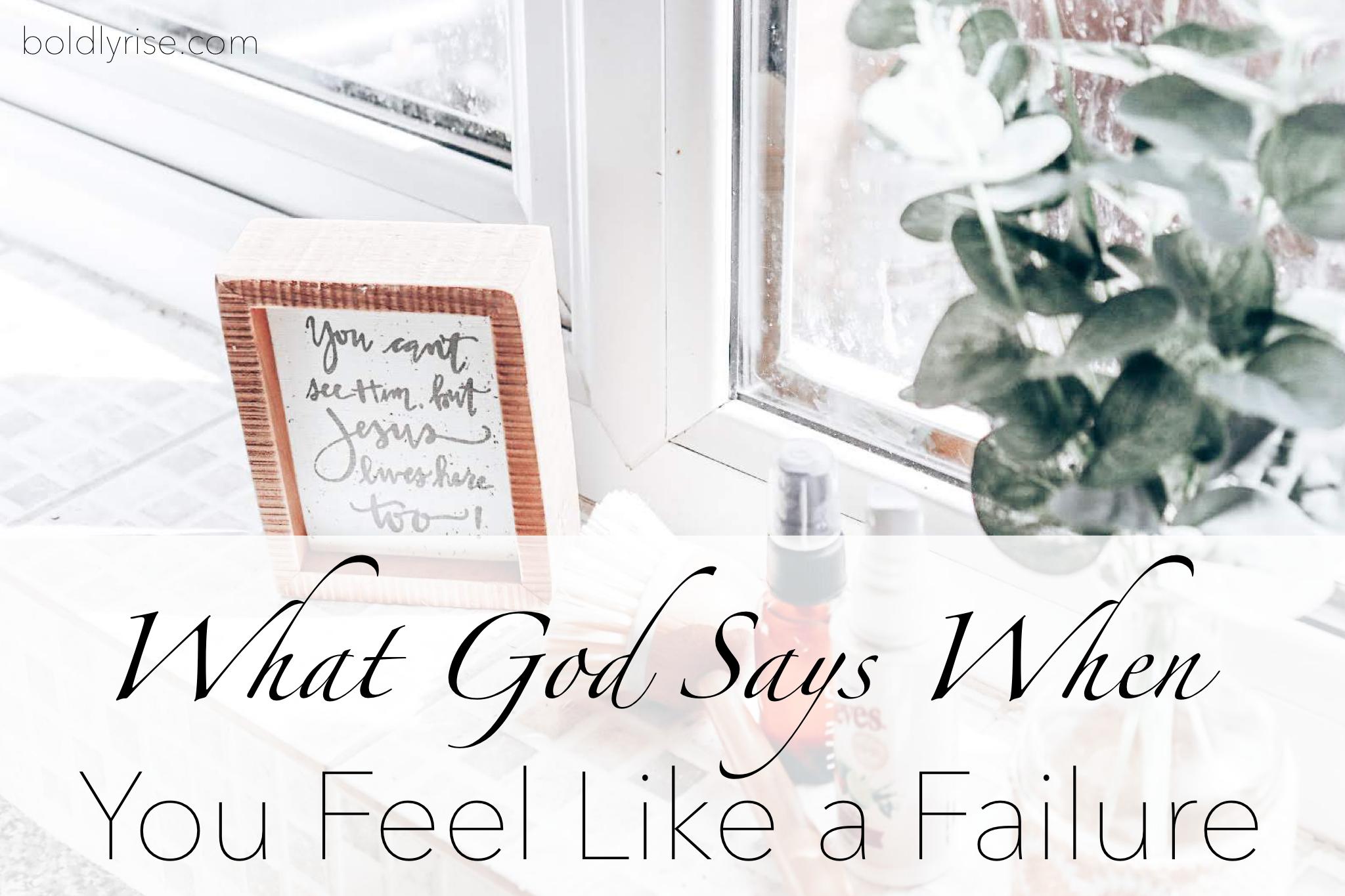 Scriptures on failure